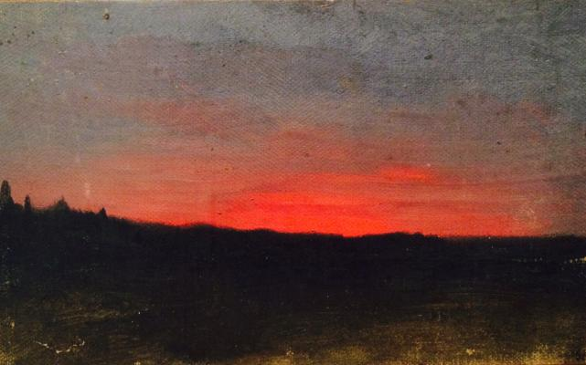 "Polenov V. ""Sunset"""