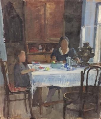 "Pochitalov V. V. ""Samsonov. Breakfast."""