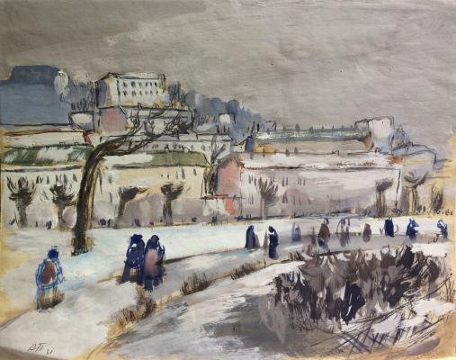 "Pochitalov ""City landscape."""