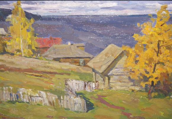 "Surovtsev A. P. ""Autumn on the Volga."""