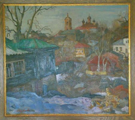 """Surovtsev A. P. """"Ravine Kasimov."""""""