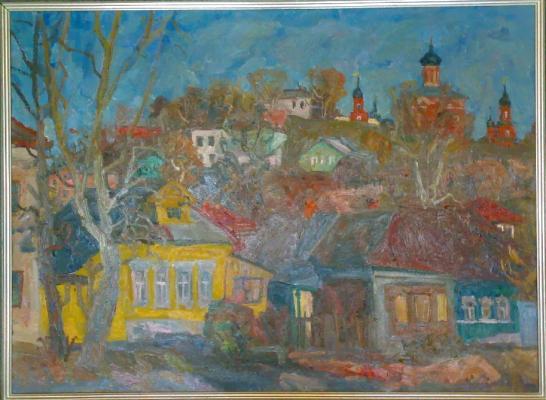 """Surovtsev A. P. """"Volokolamsk. Street."""""""