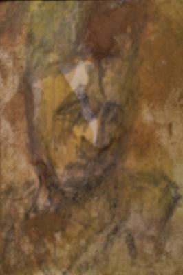 Жегин (Шехтель) Лев Федорович. Портрет в желтых тонах