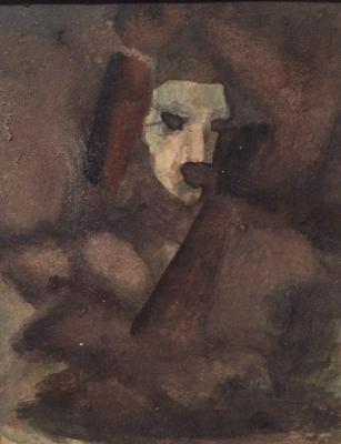 "Zhegin (Shekhtel) L. F. ""Portrait."""