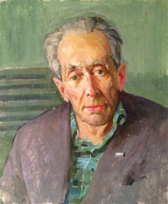 "Kamanin S. ""Portrait of elderly man."""