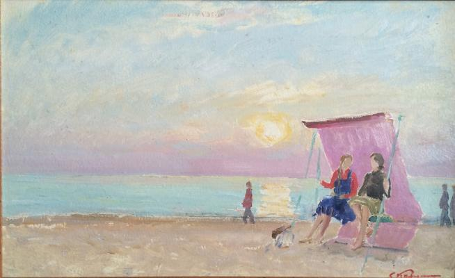 "Kamanin S. ""Evening in Palanga"""