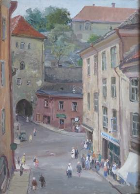 "Kamanin S. ""Square in Tallinn."""