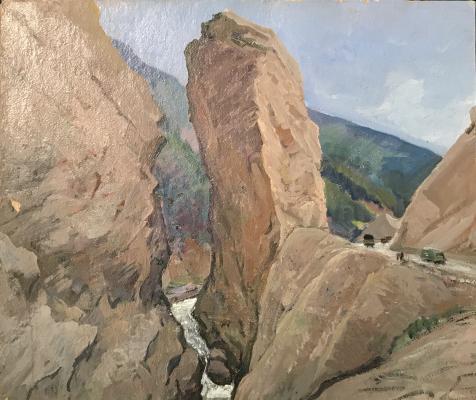 "Kamanin S. ""Rocks (North Ossetia)"""