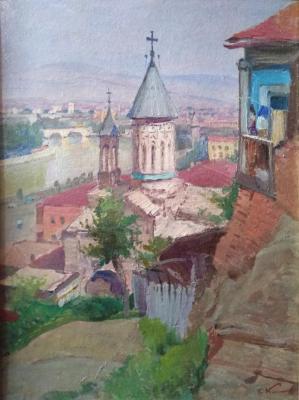 Каманин Сергей Михайлович. Церковь в Тбилиси