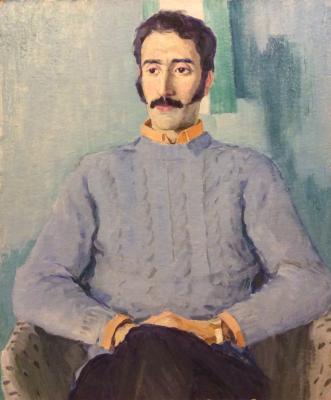 Каманин Сергей Михайлович. Портрет студента