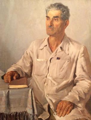 """Papikyan A. S. """"Portrait of a Man."""""""