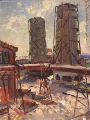 "Papikyan A. S. ""Industrial landscape."""