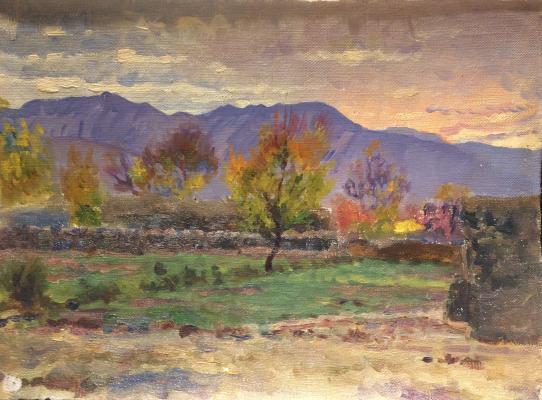 """Papikyan A. S. """"Armenia. Mountain landscape."""""""