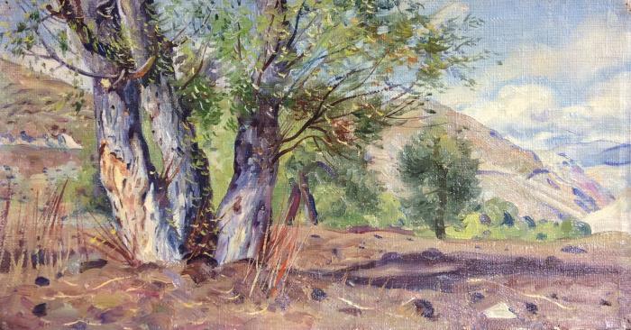 Папикян Альберт Степанович. Три дерева