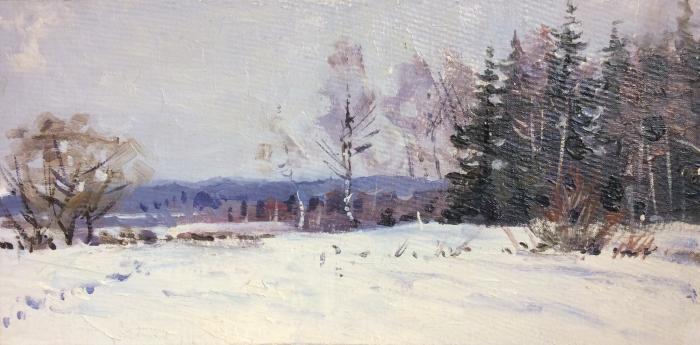 Папикян Альберт Степанович. Зима
