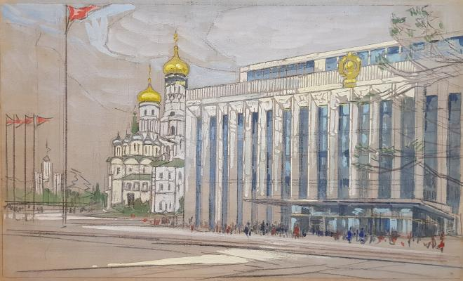 Маторин Михаил Владимирович. Кремлёвский дворец съездов