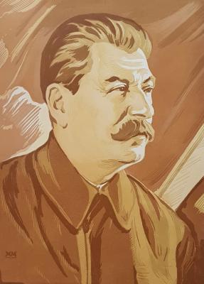 Маторин Михаил Владимирович. Портрет Иосифа Виссарионовича Сталина