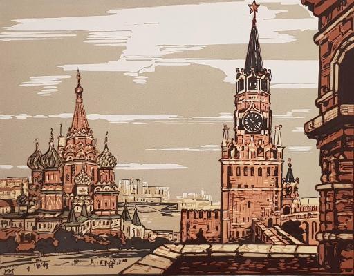 Маторин Михаил Владимирович. Москва. Кремль