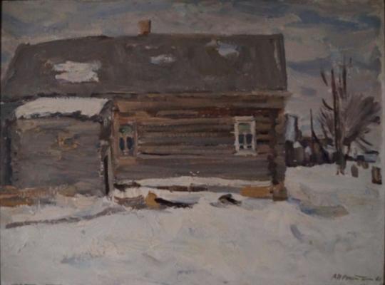 Нечитайло Василий Кириллович. Старый дом в деревне