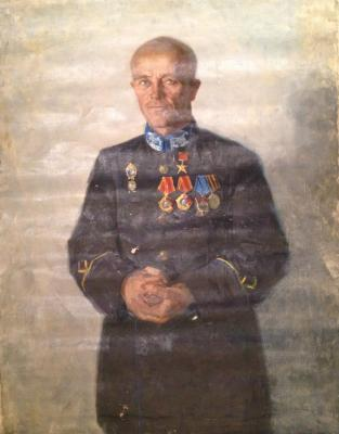 "Ponomarev N. A. ""Portrait of the military."""