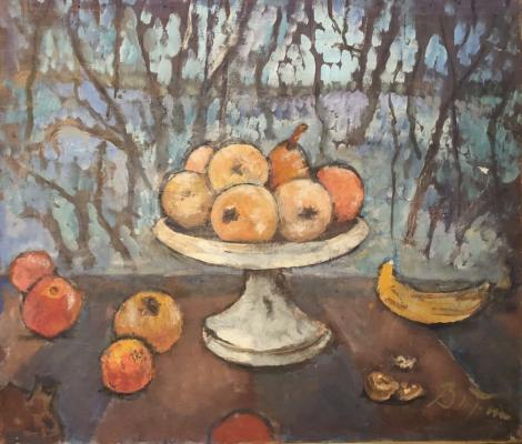 "Vitman I. I. ""Still life with apples"""