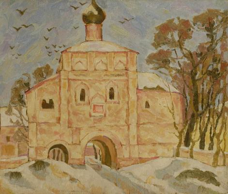 "Kurnikov N. F. ""Monastery."""