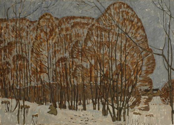 Курников Николай Федорович. Кружевной лес.