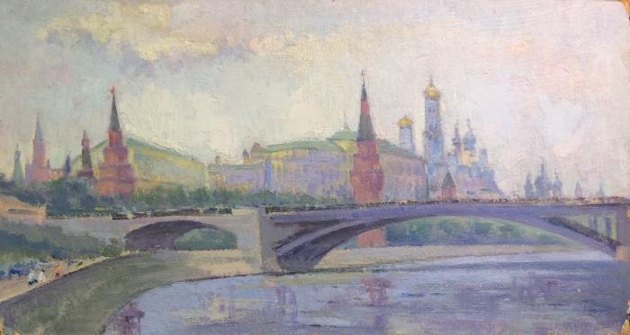 """Gluskin A. M. """"Moscow. Kremlin."""""""