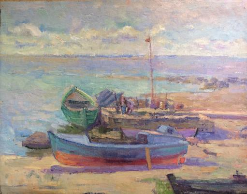 "Gluskin A. M. ""Fishing boats."""