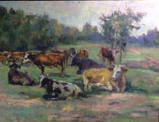 """Gluskin A. M. """"Herd."""""""
