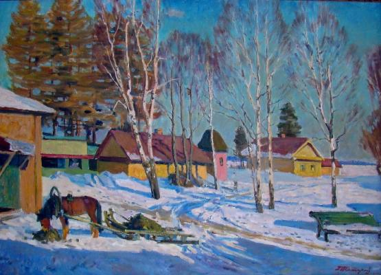 "Tatarinov G. A. ""March on the creative dacha Article. Ladoga."""