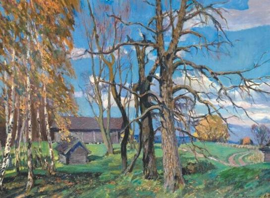 "Tatarinov G. A. ""Autumn Day"""