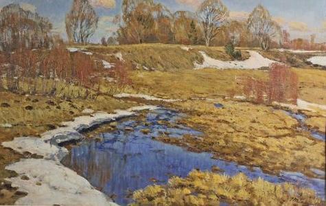 "Tatarinov G. A. ""Spring came,"""