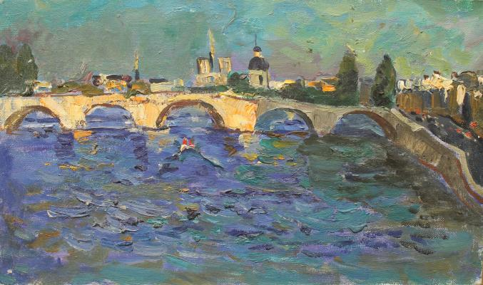 "Matushevsky Y. V. ""Bridge over river"""