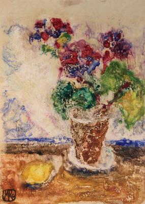 "Raube-Gorchilina M. V. ""Flower in a pot."""