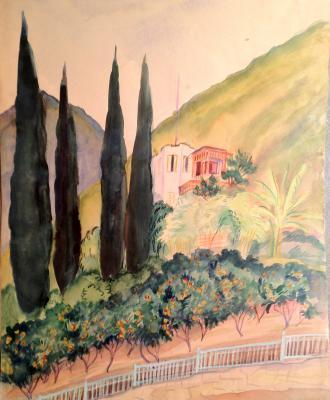 """Raube-Gorchilina M. V. """"Lombardy poplars ."""""""