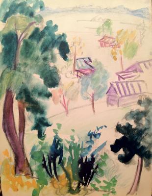 """Raube-Gorchilina M. V. """"Summer landscape ."""""""