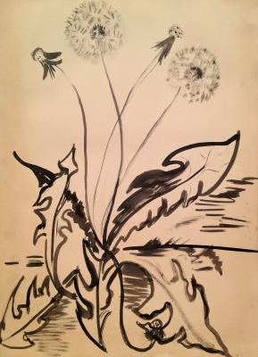 """Raube-Gorchilina M. V. """"Dandelion ."""""""