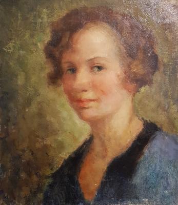 Яновская Ольга Дмитриевна. Женский портрет