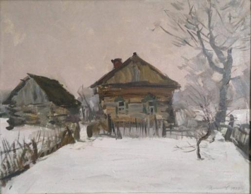 Цыплаков Виктор Григорьевич. Зимка