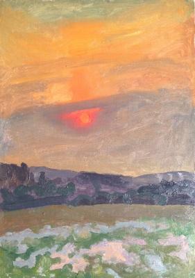 """Popkov V. Y. """"Sunset."""""""