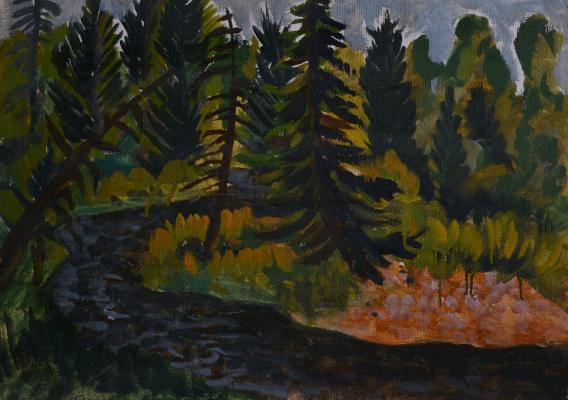 "Kapelko V. F. ""Taiga river"""