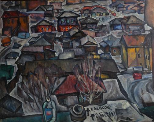 """Gorensky G. G. """"Old Krasnoyarsk"""""""