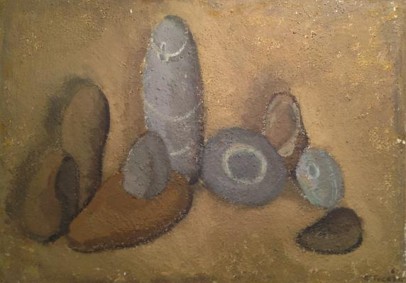 "Guseva T. P. ""Stones in the sand."""