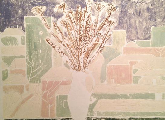 "Guseva T. P. ""Flowers on the window."""