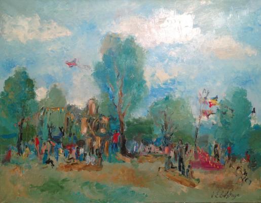 """Yelnitskaya V. """"Landscape."""""""