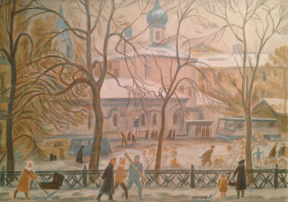 "Dekhtereva T. A. ""Sretensky Boulevard. Moscow"""