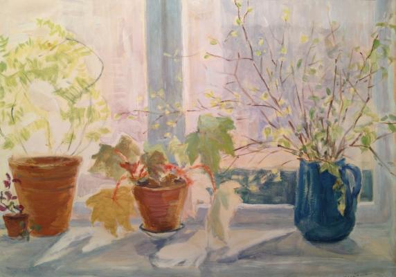 "Dekhtereva T. A. ""Spring on the windowsill."""