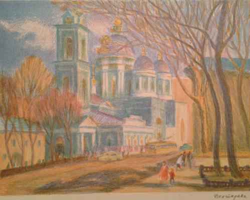 """Dekhtereva T. A. """"Bloch church"""""""