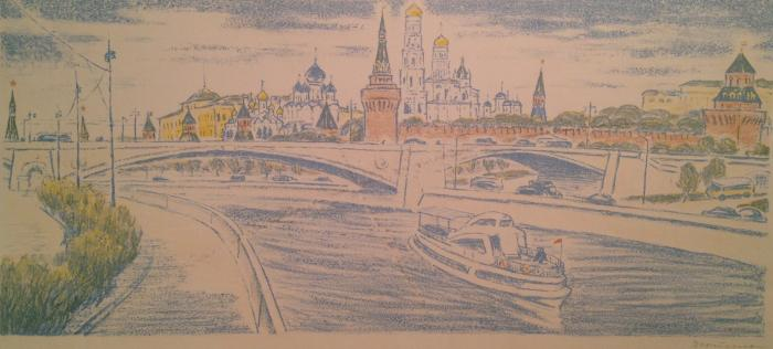 "Dekhtereva T. A. ""Moscow Morning"""